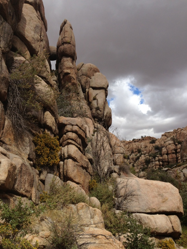 More granite rocks
