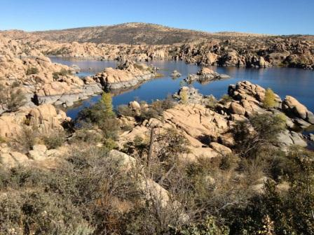 Watson Lake in the Granite Dells of Prescott, AZ